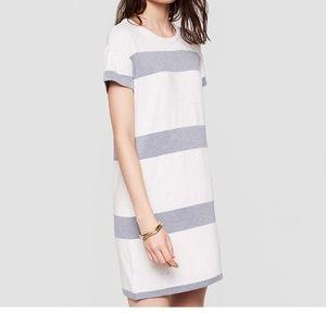 XS Lou & Grey signature striped soft tee dress